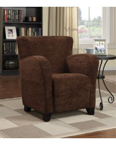 Fauteuil d'appoint (PRIMO/ANITA-C/TWILL BROWN)
