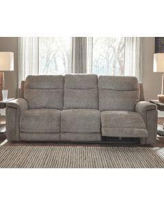 Sofa inclinable avec têtes et pieds motorisés (ASHLE/7320515PWR/SMOKE)