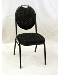 Chaise empilable (DURA/D1293/NOIR/DOT)