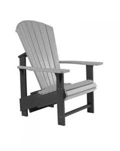 Chaise ''Upright'' Adirondack (C.R./UPADIRON C03/18/19 2 TONS)