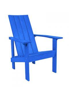 Chaise ''Adirondack'' Moderne (C.R./MODERNE C06/03 BLEU)