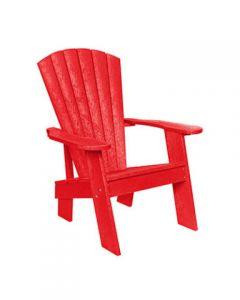 Chaise original Adirondack (C.R./ADIROND C09/01 ROUGE)