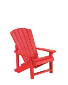 Chaise ''Adirondack'' pour enfant (C.R./KIDS C8 ADI/01 ROUGE)