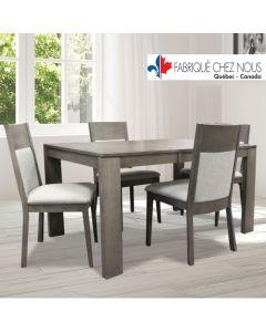 Chaise de cuisine  (TOMA/1029/GRISUSE100/TIF61)