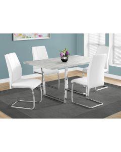 """Table de cuisine 36"""" X 60'' gris ciment  (MONARCH/I 1119)"""