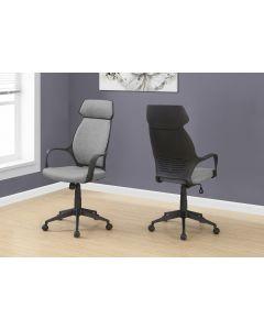 Chaise de bureau en microfibre (MONAR/I-7250/)