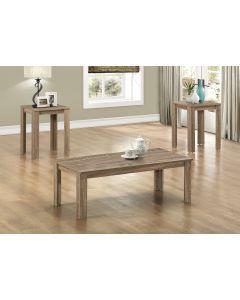 ENS DE TABLES - 3PCS / TAUPE FONCE (MONAR/I-7912P/3 MCX)