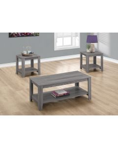 ENS DE TABLES - 3PCS / GRIS (MONAR/I-7991P/3 MCX)