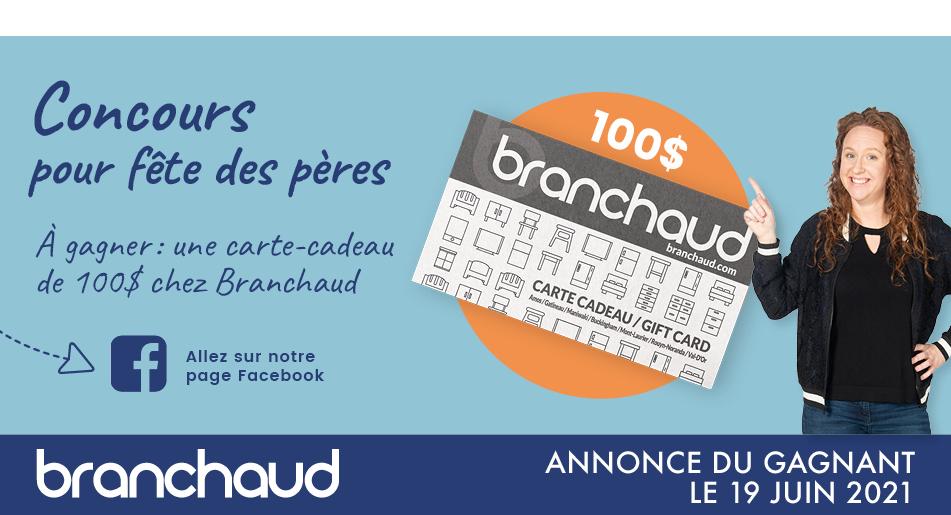 Branchaud - Concours pour la fête des pères