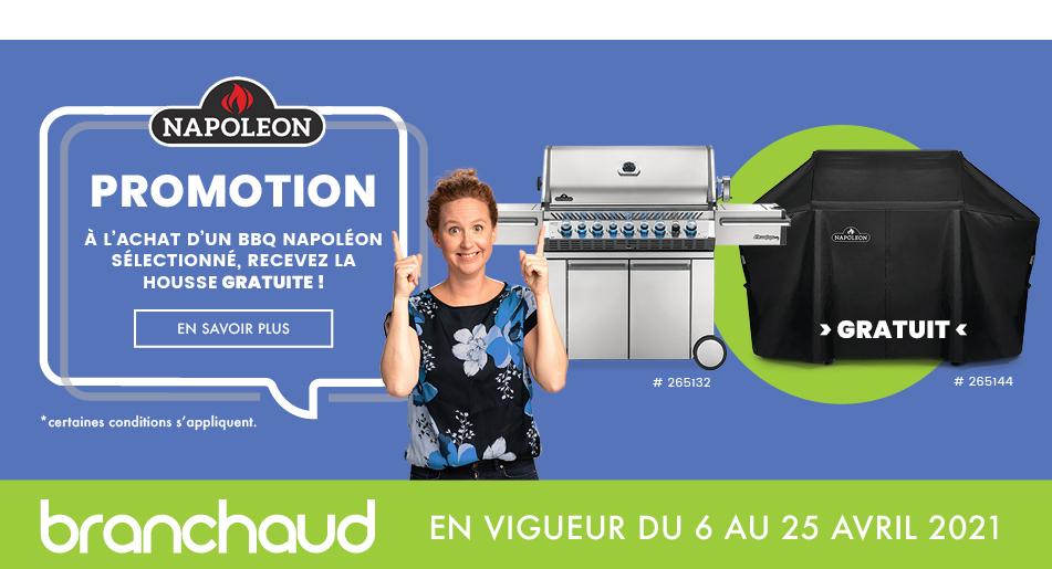 Branchaud | Promo BBQ Napoléon