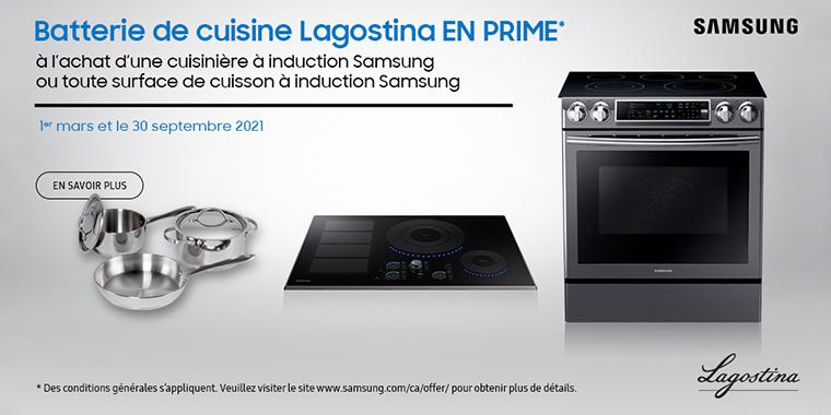 Promotion Samsung-Lagostina