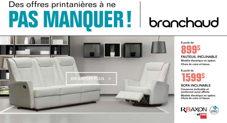 Branchaud Meubles Electromenager Electronique Et Informatique